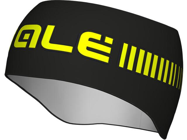 Alé Cycling Strada Accesorios para la cabeza, black fluo yellow